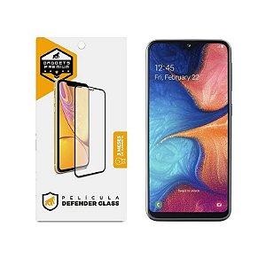 Película Defender Glass Para Samsung Galaxy A30 - Preta - Gshield