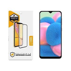 Película Defender Glass Para Samsung Galaxy A30S - Preta - Gshield