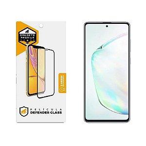 Película Defender Glass Para Samsung Galaxy Note 10 Lite - Preta - Gshield