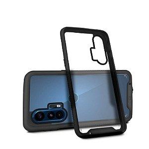 Capa Stronger Preta Para Motorola Moto Edge - Gshield