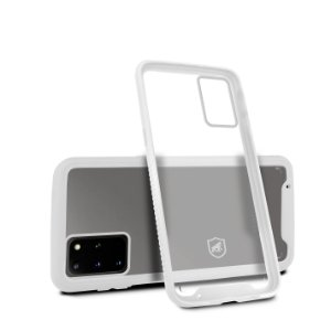 Capa Stronger Branca Para Samsung Galaxy S20 Plus- Gshield