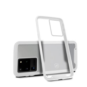 Capa Stronger Branca Para Samsung Galaxy S20 Ultra - Gshield