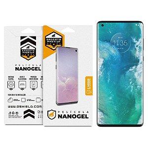 Película de Nano Gel Dupla Para Motorola Moto Edge - Gshield