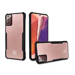 Capa Dual Shock X Preta Para Samsung Galaxy Note 20 - Gshield