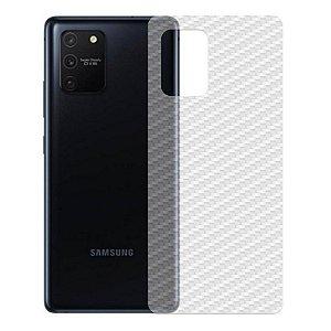 Película Traseira De Fibra De Carbono Para Samsung Galaxy M80s - Gshield