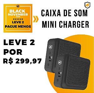 Caixa De Som Mini Charger - Black November - Gshield