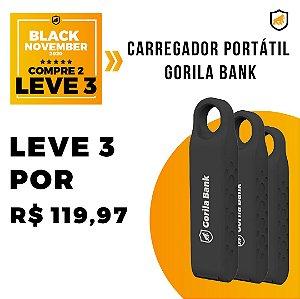 Carregador Portátil Gorila Bank - Black November - Gshield