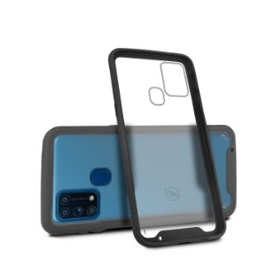Capa Stronger Preta Para Samsung Galaxy M31 - Gshield