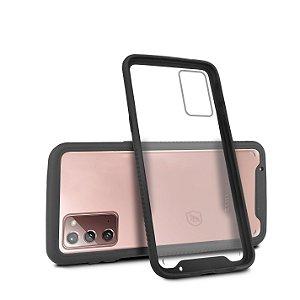 Capa Stronger Preta Para Samsung Galaxy Note 20 - Gshield
