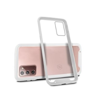 Capa Stronger Branca Para Samsung Galaxy Note 20 - Gshield