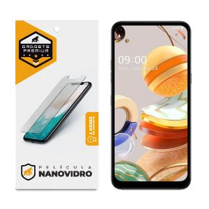 Película Nano Vidro para LG Q61 - Gshield
