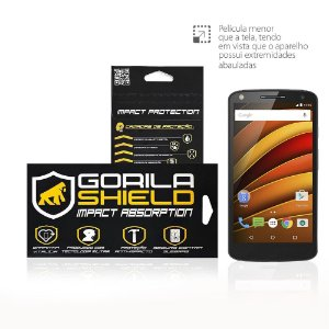 Película de vidro para Motorola Moto X Force - Gorila Shield