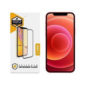 Película Defender Glass para iPhone 12 / iPhone 12 Pro - Preta - Gshield