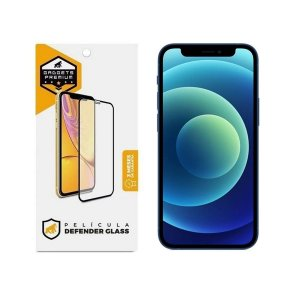 Película Defender Glass para iPhone 12 Mini - Preta - Gshield