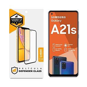 Película Defender Glass para Samsung Galaxy A21S - Preta - Gshield