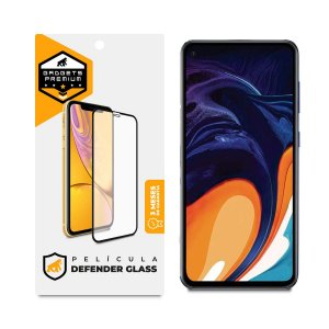 Película Defender Glass para Samsung Galaxy A60 - Preta - Gshield