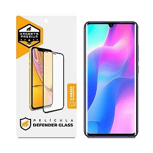 Película Defender Glass para Xiaomi Mi 10 Lite - Preta - Gshield