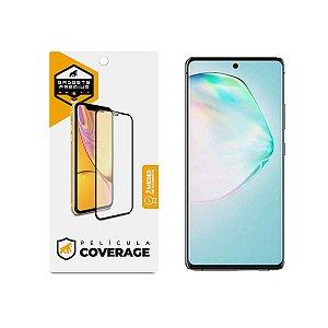 Película Coverage 5D Pro Preta para Samsung Galaxy A91 / M80S - Gshield