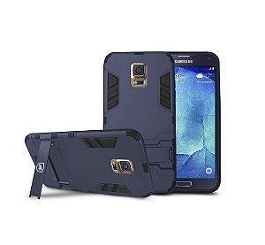 Kit Capa Armor e Película de Vidro Dupla para Samsung Galaxy S5 New Edition - Gshield