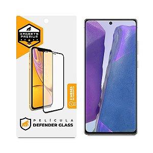 Película Defender Glass para Samsung Galaxy Note 20 - Preta - Gshield