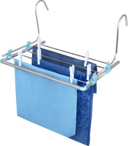 Varal Portátil Alumínio 50,5cm x 41cm Azul MOR