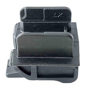 Adaptador Modelo IMBEL LX Para Coldres Maynards Pistolas MD1 a MD7 Com trilho