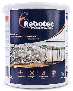 Impermeabilizante Rebotec ® 500gr Para Laje Reboco Piso Cerâmica