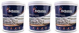 Impermeabilizante Rebotec ® 15kg Para Laje Reboco Piso Cerâmica
