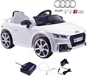 Carro Elétrico Infantil Audi TT RS Com Controle Remoto Belfix 921700