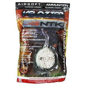 Munição Airsoft BBS 0.25g 6mm Branca Com 4000 Und Velozter Nautika