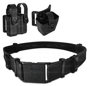 Kit Porta Carregador Tab Lock e Porta Algema Bélica
