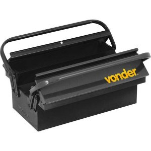 Caixa Metálica para Ferramentas com 3 Gavetas Vonder