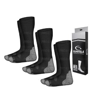 Kit 3 Pares de Meia Guartelá Thermo Dry Para Bota Coturno