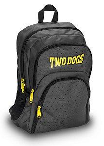 Mochila Casual c/ USB Two Dogs 20L- ZY8052-B