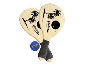 Jogo Frescobol com Raquetes e Bola Klopf 3610