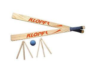 Kit Tacobol com Bolinha, Raquetes e Casa 4002 Klopf