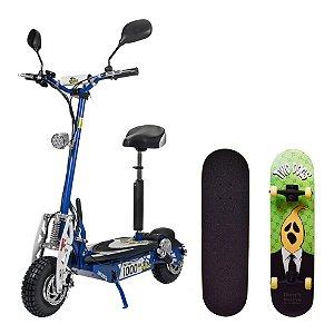 Patinete Elétrico 1000W/48V + Skateboard Ramble Ghost Twodogs