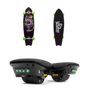 Hover Shoes Hoverboards + Skate Longboard Speed Rider D3 Twodogs