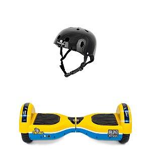 Hoverboard Teen Balance Wheel Twodogs + Capacete Preto Bob Burnquist