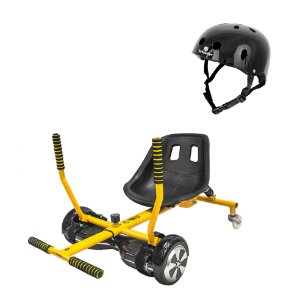 Go Kart Drift Hoverboards Twodogs + Capacete Preto Bob Burnquist