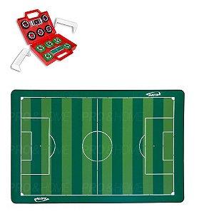 Kit Futebol de Botão com Campo 1026 e Maleta com 2 Times Klopf