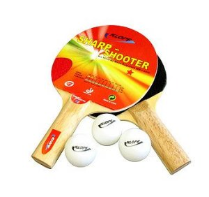 Kit Tenis de Mesa Raquete Pino Ping-Pong Completo 5052 Klopf