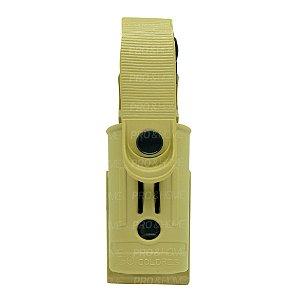 Porta Lanterna Tática em Polímero SC016 Só Coldres