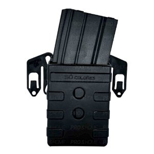Porta Carregador Duplo De Fuzil 556 Modular SC074 Só Coldres