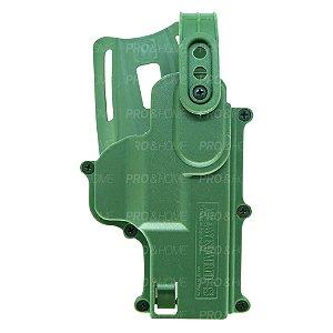 Coldre Cintura Curto MC03 Verde Maynards