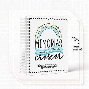 Caderno Memórias menino