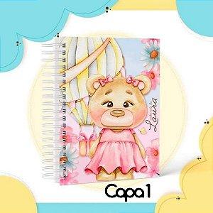 Caderneta de Vacinação Menina personalizada