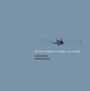 Bruno Schulz conduz um cavalo | Leda Cartum e  Marcos Cartum