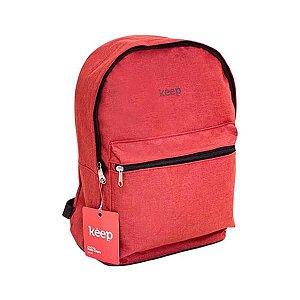 Mochila Keep Colors 15,6 Vermelha - BO434