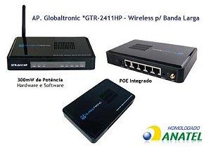 Roteador Sem Fio GTR-2411 HP com 4 portas de rede